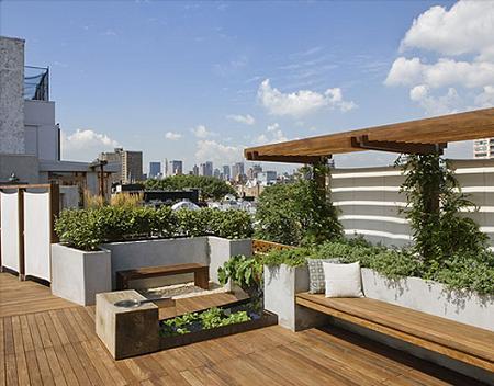 Urban Terrace Ideas