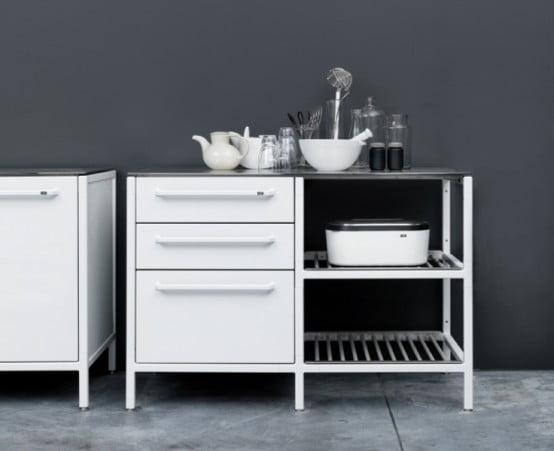 Çelik Mutfak Modelleri (6)