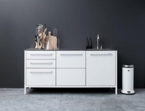 Çelik Mutfak Modelleri (7)