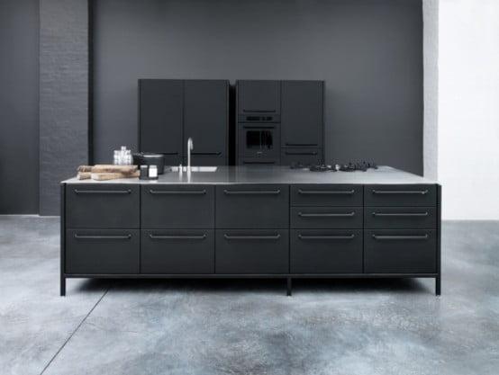 Çelik Mutfak Modelleri (8)