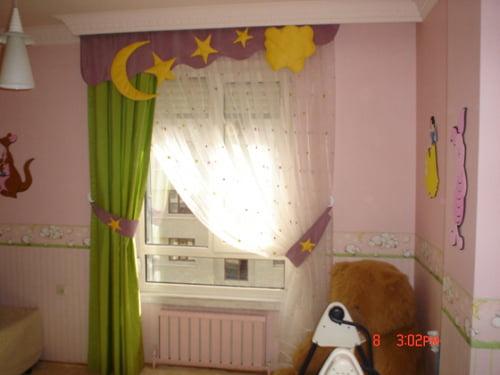 Bebek Odası Perdeleri (2)