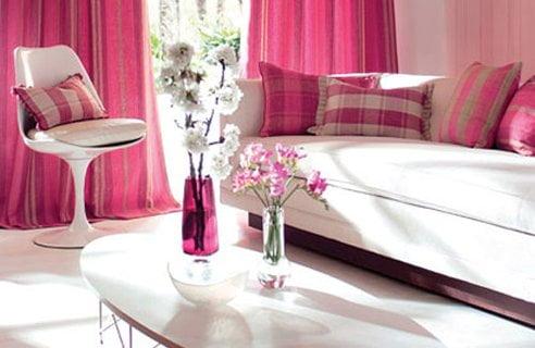 Pembe Renk Oturma Odası (3)