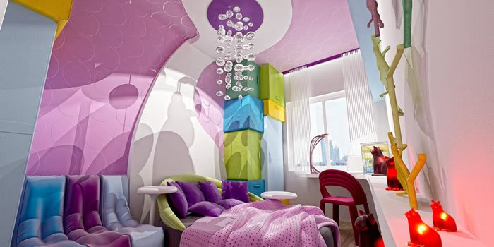 Pembe Renk Oturma Odası (6)