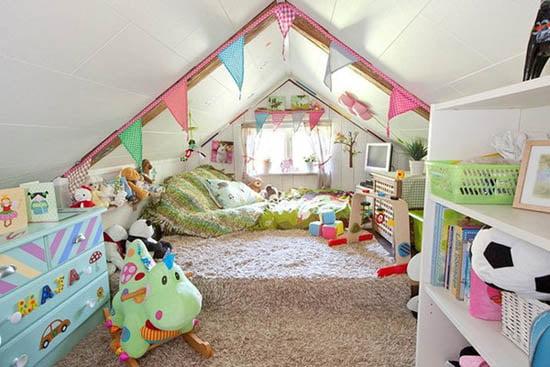 Renkli Çocuk Odası Modelleri (11)