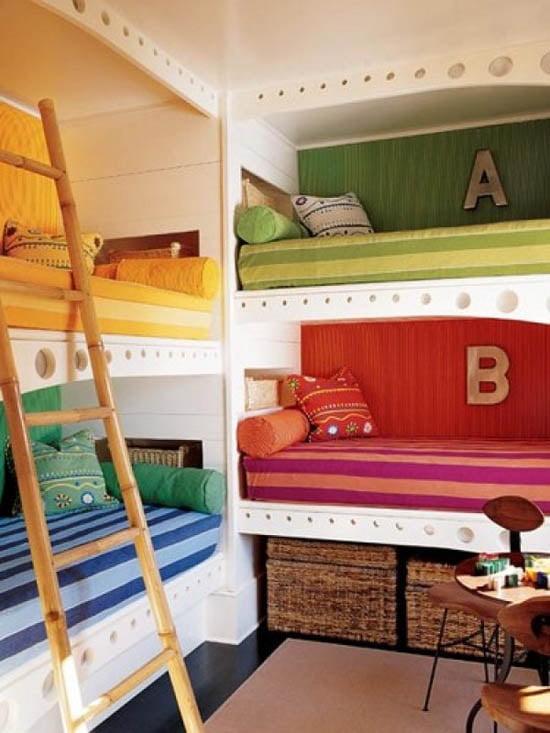 Renkli Çocuk Odası Modelleri (14)