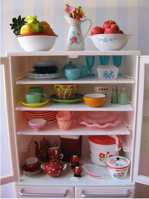 Renkli Mutfak Dizaynı (1)