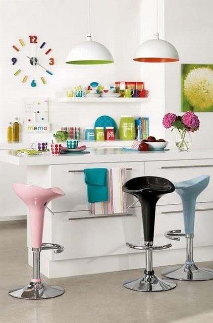 Renkli Mutfak Dizaynı (2)