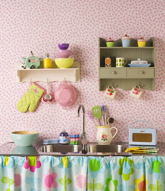 Renkli Mutfak Dizaynı (4)