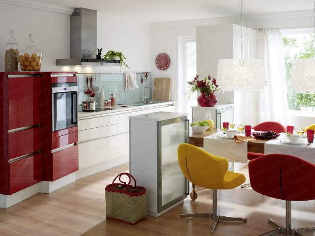 Renkli Mutfak Dizaynı (5)