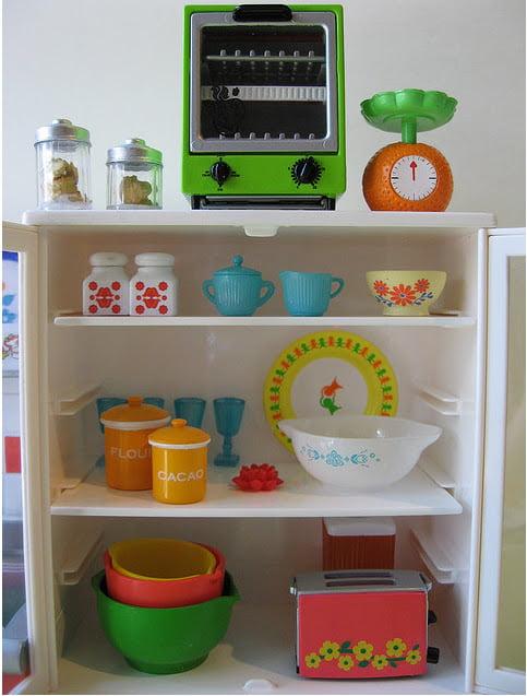 Renkli Mutfak Dizaynı