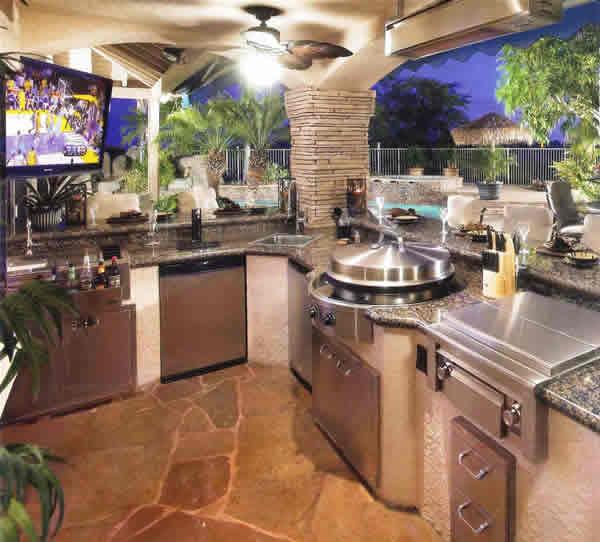 Açık Mutfak Tasarımları (10)