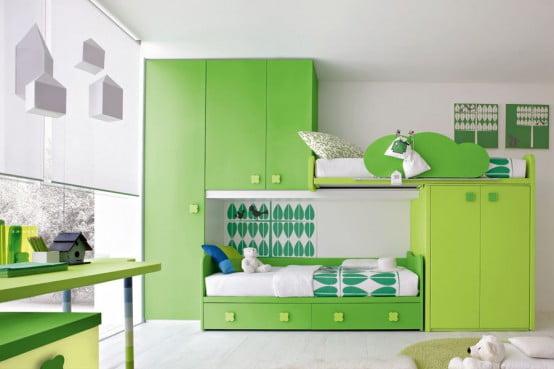 Bebeğin yatak odası mobilya (3)