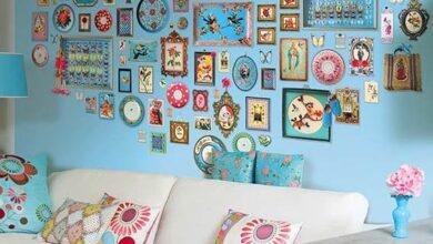 Duvar dekorasyonu el yapımı