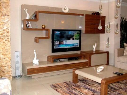 Evim Mobilya Tv Duvar Ünite Örnekleri