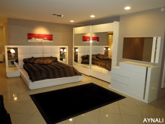 Modern Yeni Yatak Odası Modelleri