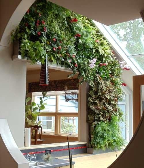 Yeşil Ev Dekorasyonu (6)