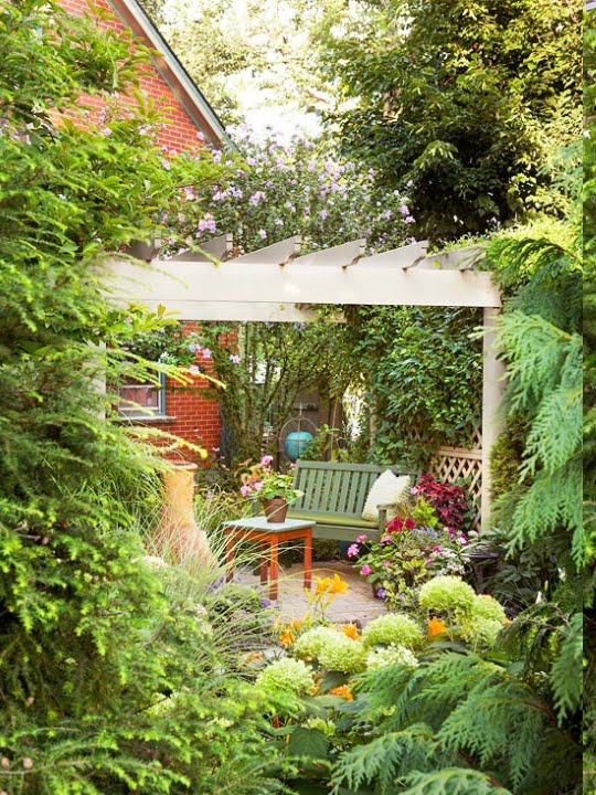 Çağdaş Bahçe Fikirleri (1)