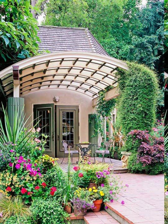 Çağdaş Bahçe Fikirleri (4)