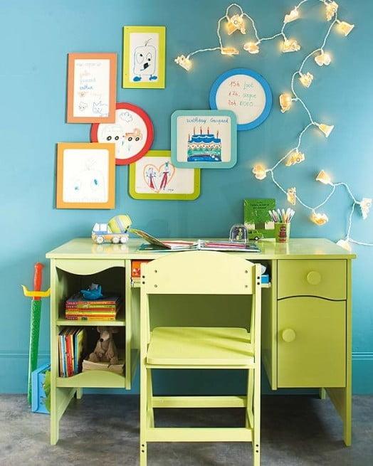 Çocuk Çalışma Masa Örnekleri (6)
