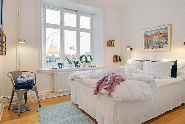 İsveç Yatak Odası Tasarımları (1)