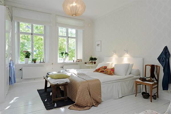 İsveç Yatak Odası Tasarımları (4)
