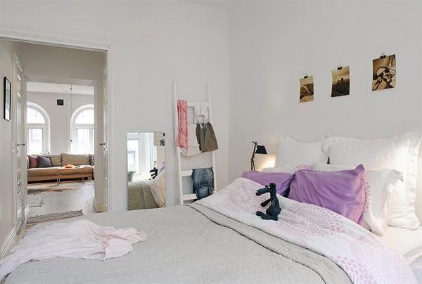 İsveç Yatak Odası Tasarımları (6)