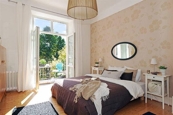 İsveç Yatak Odası Tasarımları (8)