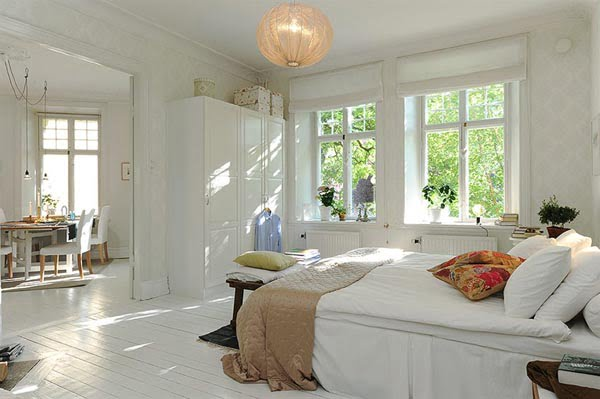 İsveç Yatak Odası Tasarımları