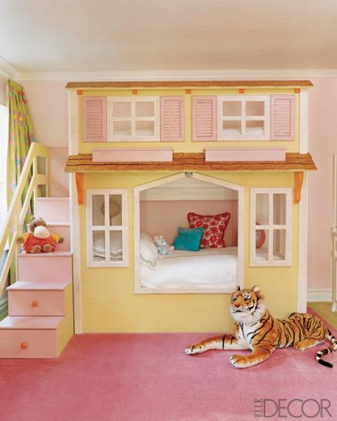 Kız Çocuk Odası Örnekleri (4)