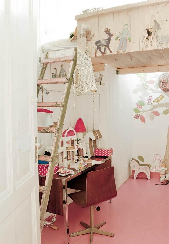 Kız Çocuk Odası Örnekleri (7)