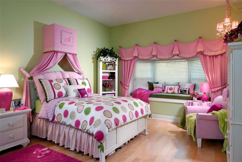 Kız Çocuk Odası Örnekleri