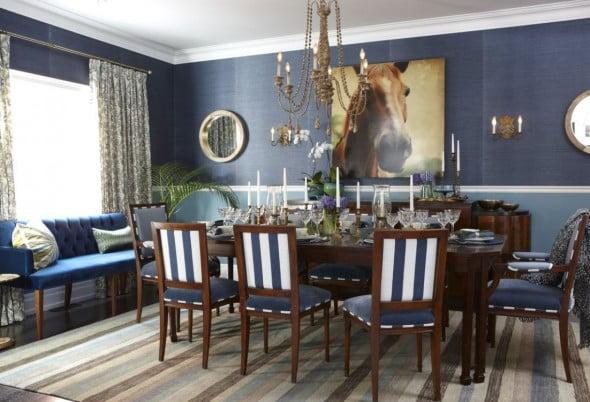 Mavi Yemek Odası (1)