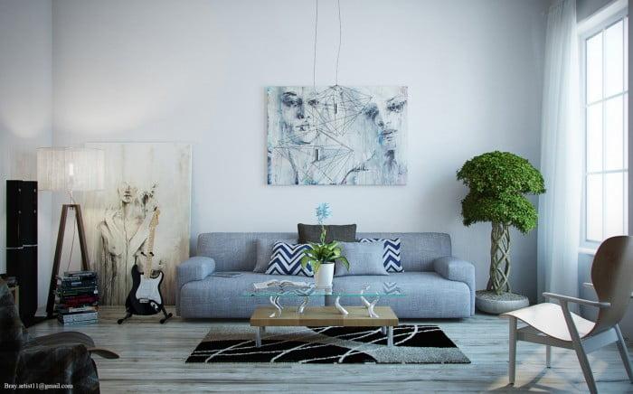 Oturma Odası Dekorasyonu (1)
