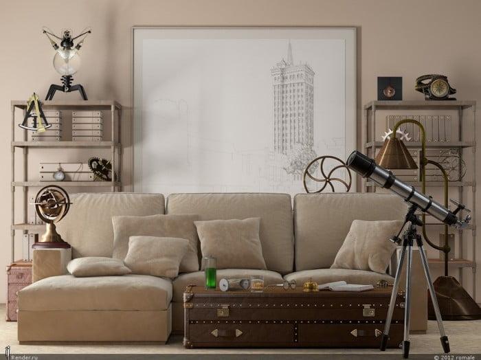 Oturma Odası Dekorasyonu (12)