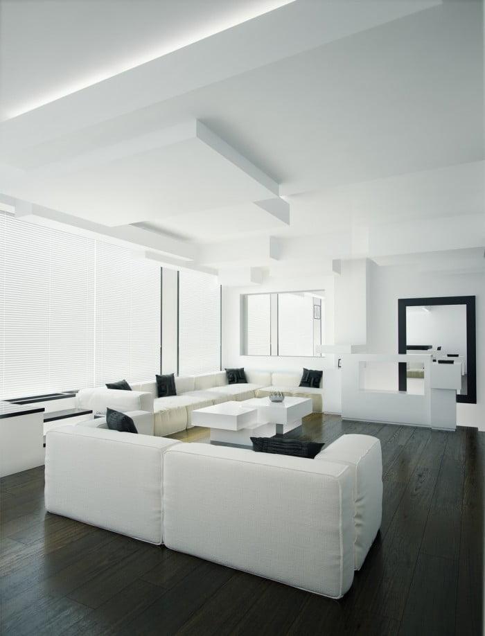 Oturma Odası Dekorasyonu (14)