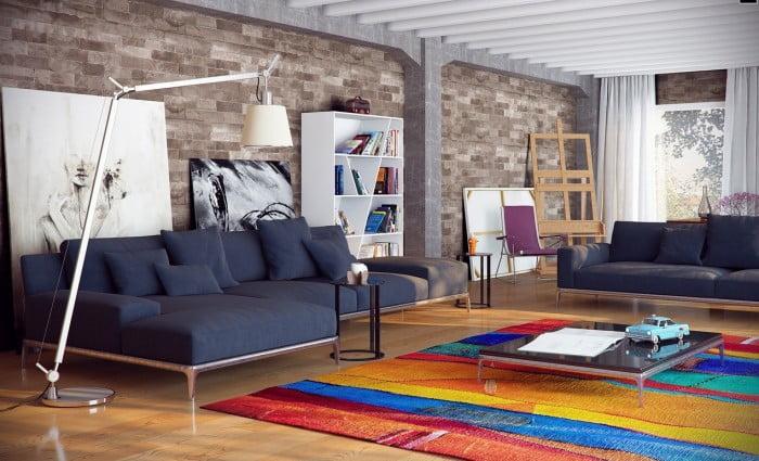 Oturma Odası Dekorasyonu (2)