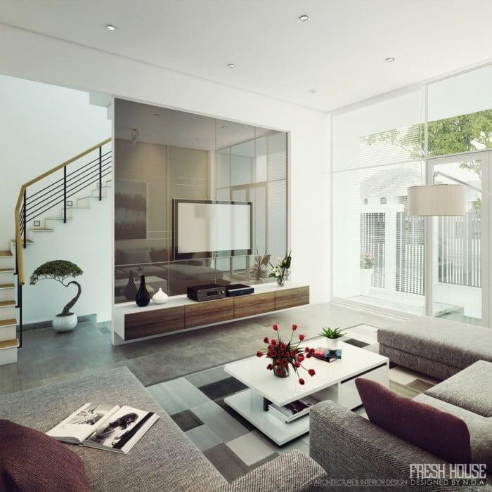 Oturma Odası Dekorasyonu (6)