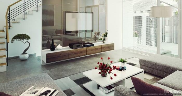 Oturma Odası Dekorasyonu (7)