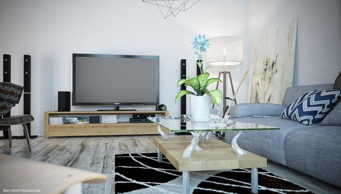 Oturma Odası Dekorasyonu (8)