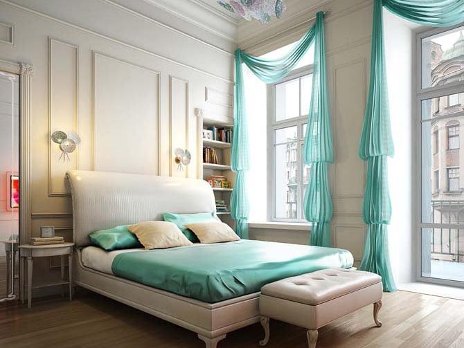 Renkli Lüks Ev Dekorasyon Örnekleri