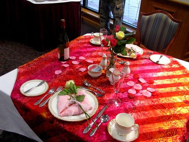Romantik Yemek Masası (3)