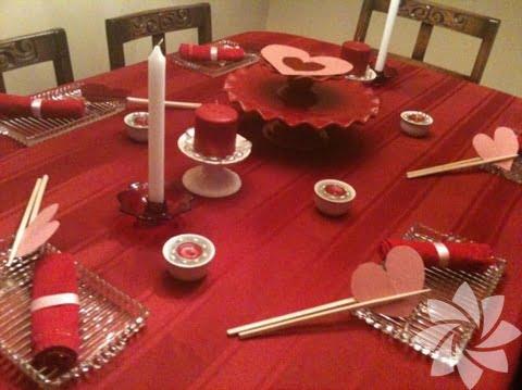 Romantik Yemek Masası (4)