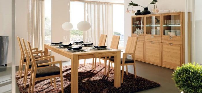 Sade Yemek Odası Modelleri (25)