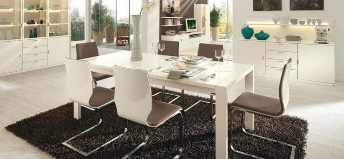 Sade Yemek Odası Modelleri (3)
