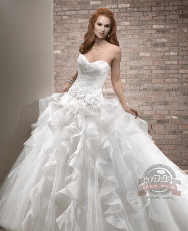 Yeni Moda Gelinlik Modelleri (14)