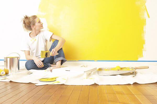 Sarı Renk boya