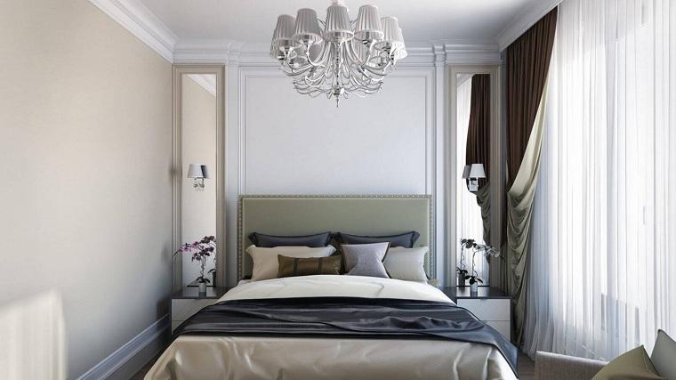 küçük tarz bir yatak odası nasıl dekore edilir
