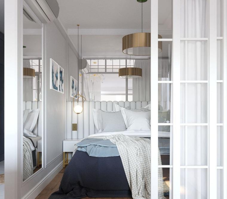 küçük moda yatak odası nasıl dekore edilir