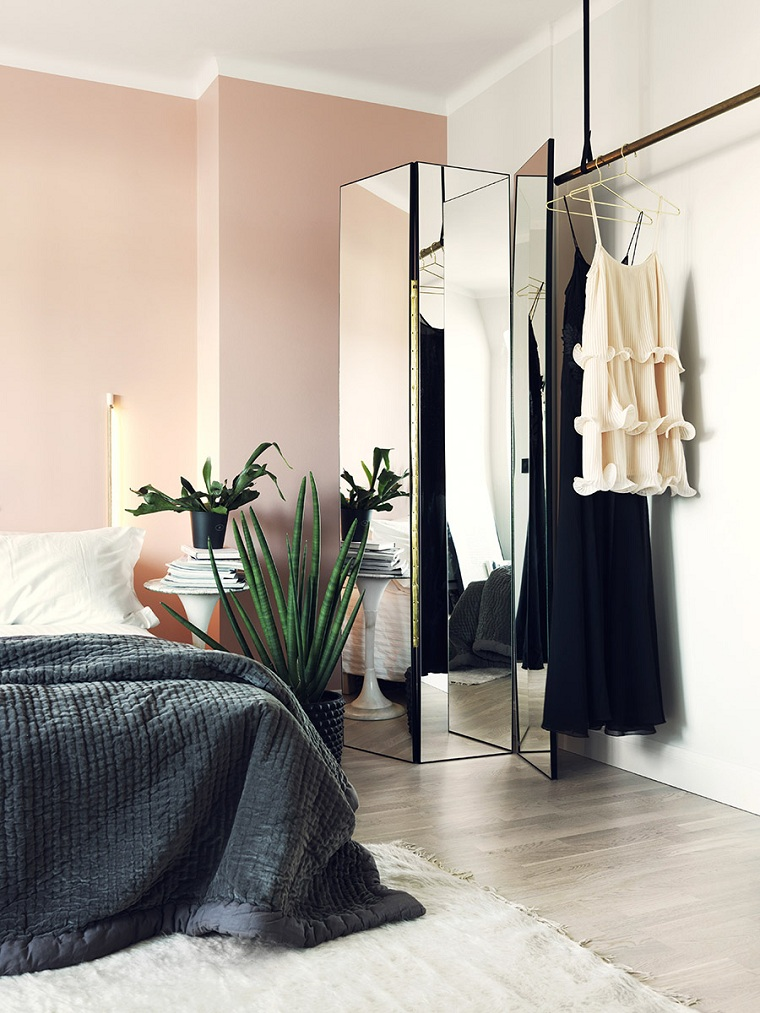 feminen-yatak odası-fikirler-tasarım-küçük-alan