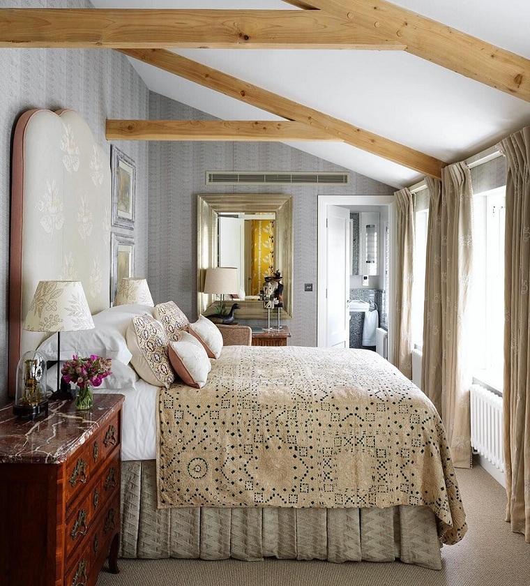 dekorasyon-yatak odası-küçük-klasik-tasarım